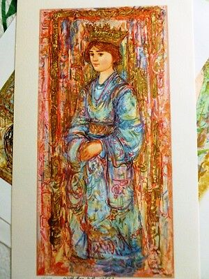 Book of Hours I - by Edna Hibel - Limited Edition Hand Signed and Numbered- Mint