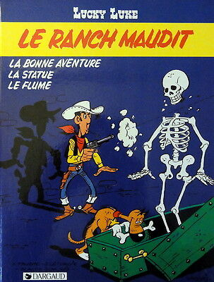 LUCKY LUKE N° 56 Le ranch maudit BD EO 1986 Dargaud