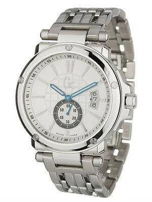 GUESS COLLECTION GC Homme Herrenuhr Sweep Montre en Acier