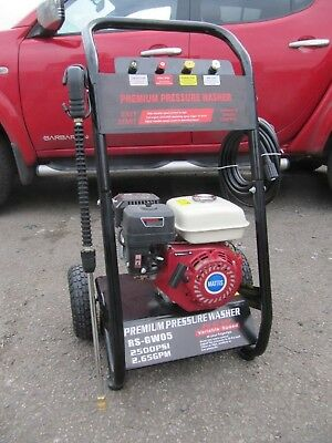 Petrol Pressure Washer 2500psi will draw from a drum 5.5hp petrol washer
