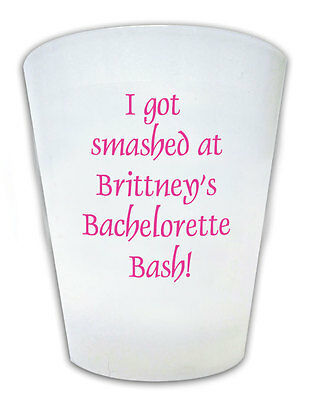 100 Personalized Bachelorette Party Shot Glass Favors