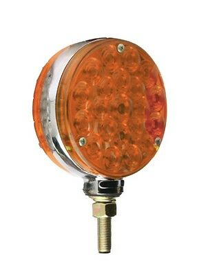 LED Truck,Trailer,Farm,Agriculture Amber Two Side, Two Function Post Light