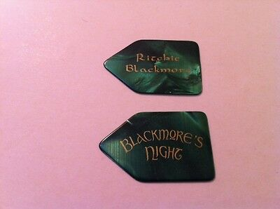Ritchie Blackmore Night Rainbow Green Guitar Pick