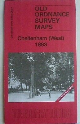Old Ordnance Survey Maps Cheltenham West Gloucestershire 1883 Godfrey Edition