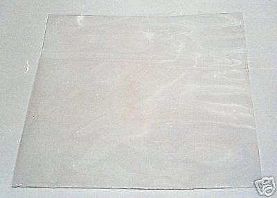 "300 7"" Plastic Polythene Record Sleeves / Covers 250G  + Free Delivery"