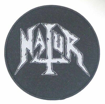"Natur ""Logo"" Woven Patch - NEW head of death spiderbaby spider baby"