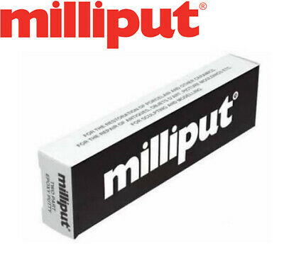 Milliput Black Adhesive 2 Two Part Epoxy Putty Model Filler Mould Modelling New