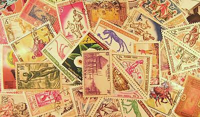Stamps - 50 Dahomey Lg - Country - Packets - Lot- Stamp Packet - Collection