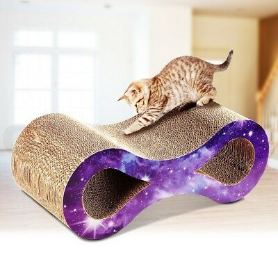 Dual Layer Kitten Cat Scratcher Pet Claw Scratching Board Scratch Post Toy