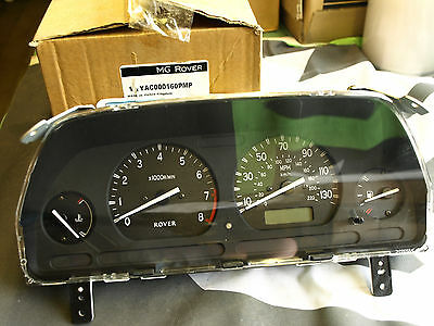 GENUINE MG ROVER 25 DASH CLUSTER Instruments MPH Tachometer Gauge YAC000160PMP