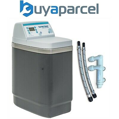 Tapworks NSC11PRO Water Softener Easyflow Metered - Full Installation Kit +Hoses