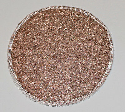 "Lustersheen 5"" diameter Bronze Wool Polishing Pad ` Great shower tile cleaner!!"
