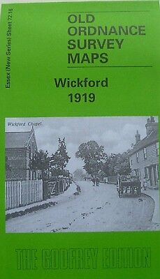 Old Ordnance Survey Maps Wickford  Essex 1919 Sheet 72.16 New Brand New