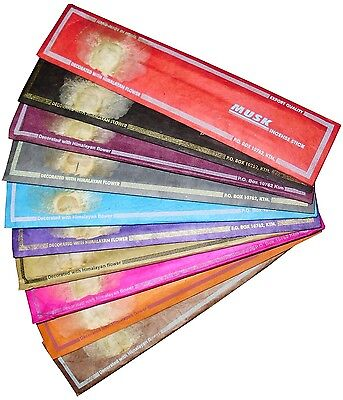 * A1 Quality Nepalese Incense * Patchouli, Nag Champa, Buddha Devotion, etc.. *