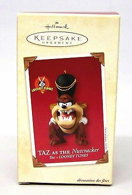 "2003 Hallmark Ornament,  Looney Tunes "" Taz as the Nutcracker """