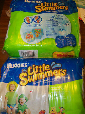 Huggies Little Swimmers Swim Diapers Size 16 / 26 Pounds  2 x 20 Ct Package = 40
