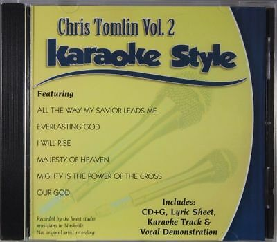 Chris Tomlin Volume 2 Christian Karaoke Style NEW CD+G Daywind 6 Songs
