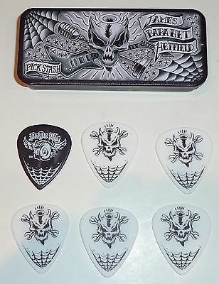 """METALLICA JAMES HETFIELD """"SO WHAT"""" Collector's 6 pick tin NEW SEALED"""