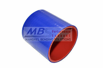 """SILICONE STRAIGHT COUPLER 3 1//4/"""" 3.25/"""" BLUE Race 5 PLY INTERCOOLER TURBO MBS"""