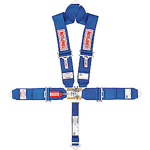 Simpson 29065BL Latch & Link System 5-Point V-Type Harness 55'' Lap Belt