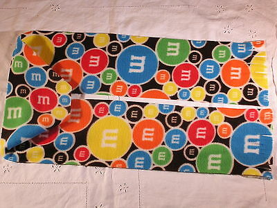 M & Ms Fleece Scarf Chocolate Lovers Check this out!