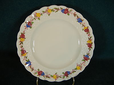 "Copeland Spode Wicker Rose Small 5 1/2"" Bread and Butter Plate"