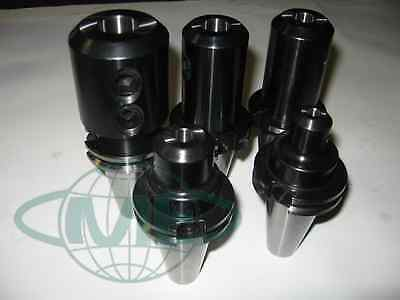 CAT40 END MILL HOLDERS, coolant thru, 5 PCS OF ANY SIZES-NEW   Tool Holder Set