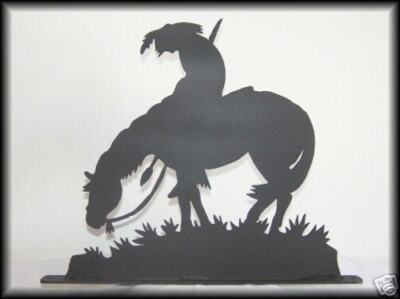 END OF THE TRAIL Horse/Indian Western Art Silhouettes!