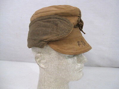 WWII Japanese Home Front Civilian Uniform War Time Cold Weather Cap