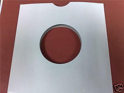 "50 X 7"" White Card Record / Vinyl Masterbags Sleeves / Covers New +Free Delivery"