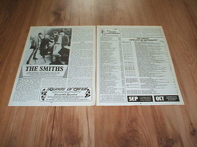 The Smiths-1987 magazine article