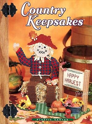 Country Keepsakes ~ 90+ Everyday & Holiday Projects plastic canvas patterns NEW