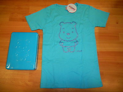 WINNIE The POOH T-SHIRT maglietta Cuties Taglia S Colore TURCHESE