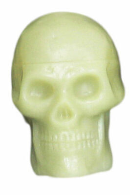 TROPHY - Beadbrain Skull Shaker Glow In Dark *NEW* Kids Percussion Music