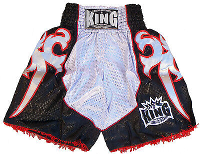 Short boxe Free fight MMA Musculation muay Thai KING type K1 polyester