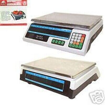 60 Pound Price Computing Scale Farmers Market Meat Deli Candy Store Kitchen