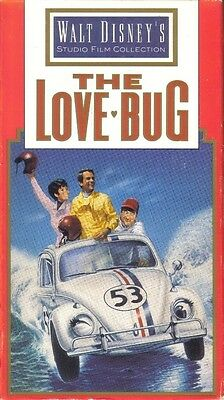 VHS: DISNEY'S THE LOVE BUG..DEAN JONES-MICHELE LEE