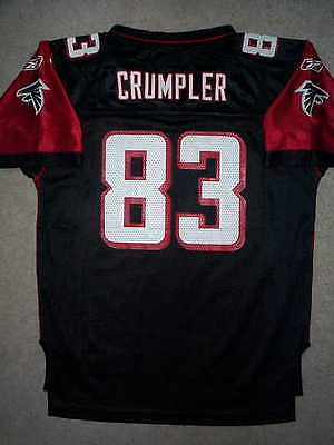 REEBOK Atlanta Falcons ALGE CRUMPLER nfl THROWBACK Jersey YOUTH KIDS BOYS  (L)