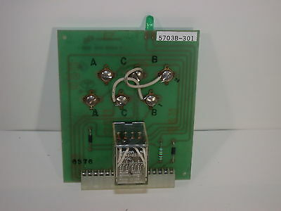 EDWARDS SYSTEM TECHNOLOGiES EST 5703B-301 BOARD AUXiLLiARY RELAY MODULE