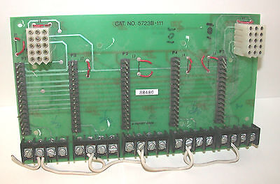 EDWARDS SYSTEM TECHNOLOGIES EST 5723B-111 5 CiRCUiT STRiP PANEL ASSEMBLY