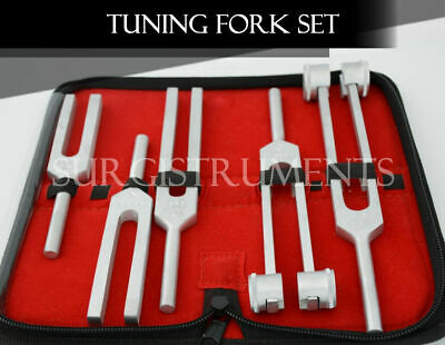 5 Tuning Forks Diagnostic Chiropractor Physical Therapy