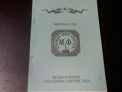 Russian Bonds and Share Certificates