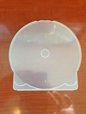 200-pk Generic Clear ClamShell Clam Shell C-Shell CD DVD Disk Storage Poly Cases