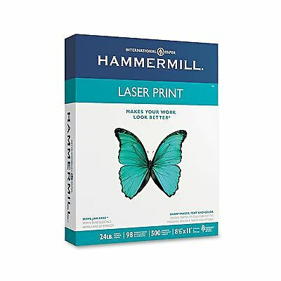 Hammermill Laser Print Copy/Laser Paper with 98 Brightness 24-lb. 500 Sheets