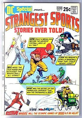 DC SPECIAL #7 Presents Strangest Sports Comic Book ~ FN
