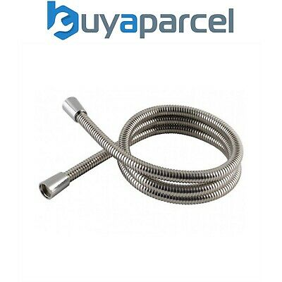 Mx Fits Triton Mira Grohe 1.0 Metre 1M Shower Hose Stainless Steel Hi Flo