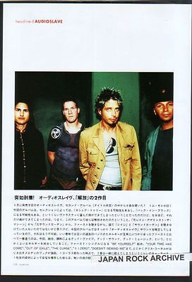 2005 Audioslave 1pg 1 photo JAPAN mag article / Soundgarden