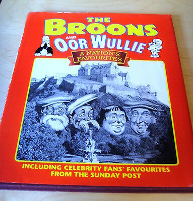 The Broons And Oor Wullie A Nation's Favourites Hb+Dj