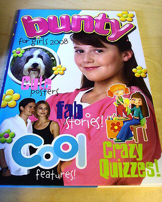 Dc Thomson Bunty Book For Girls 2008 Nm