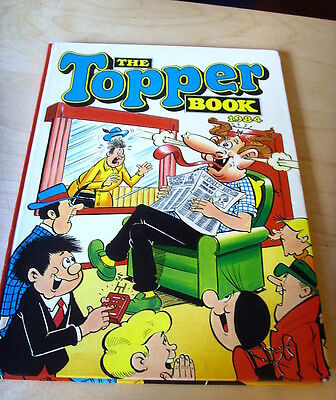 Dc Thomson The Topper Book 1984 Gc